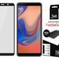Szkło 3mk Flexible Glass MAX 7H Samsung Galaxy A7 2018 black