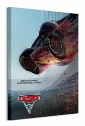Cars 3 Crash - obraz na płótnie