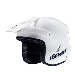 Kenny kask otwarty trial up white