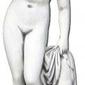 Figura ogrodowa betonowa naga kobieta 95cm