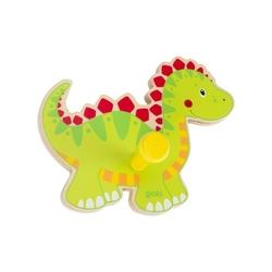 Dinozaur drewniany wieszaczek