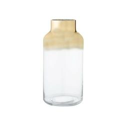 Wazon szklany gold bloomingville