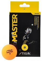 Stiga piłeczki tenis stołowy  master żółta 6 sztuk