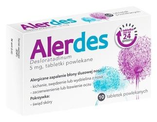 Alerdes 5mg x 10 tabletek