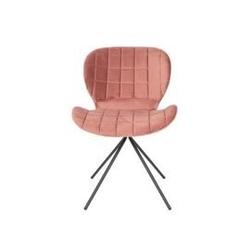 Zuiver :: krzesło omg velvet różowe