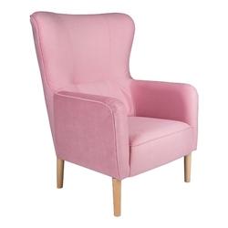 Fotel Sali I różowy