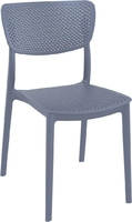 Krzesło lucy szare - szary