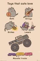 Pusheen toys for cats - plakat