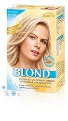 Joanna komplet blond, rozjaśniacz do pasemek i balejażu do włosów, 6 tonów