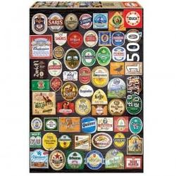 Puzzle etykiety piwne 1500