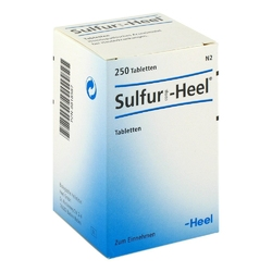 Sulfur comp. heel tabl.