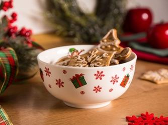 Salaterka  miseczka porcelanowa świąteczna altom design świąteczne elfy 14 cm