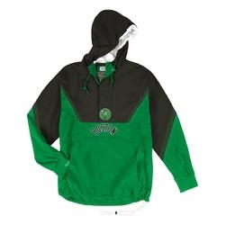 Kurtka NBA Mitchell  Ness Half Zip Anorak Boston Celtics - HFZPMG18020-BCEKYGR1