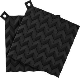 Podstawki pod gorące naczynia hold-on czarne 2 szt.