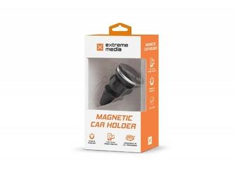 NATEC Uchwyt samochodowy do telefonu nawigacji magnetyczny z regulacją
