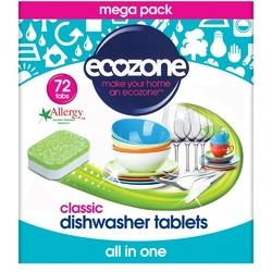 Ecozone, Tabletki do Zmywarki Classic, 72 szt.