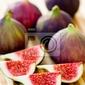 Obraz dojrzałe owoce fig