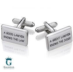 Spinki do mankietów prawnik kc-250 onyx-art london