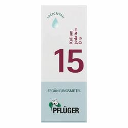 Biochemie Pflueger 15 Kalium jodatum D 6 Tropfen