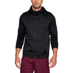 Bluza męska under armour fleece po hoodie - czarny