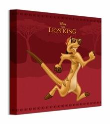 Król Lew Timon - obraz na płótnie