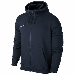 NIKE Bluza Treningowa MS TEAM CLUB FULL ZIP HOODIE 658497-451 - Granatowy