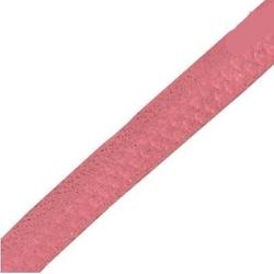 Rzemień płaski 5 mm - różowy brudny 1 metr - rwb