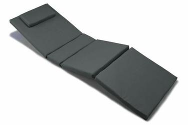 Poduszka na leżak ogrodowy, antracytowa