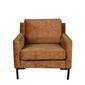 Dutchbone sofa houda 1 osobowa karmel 3200178