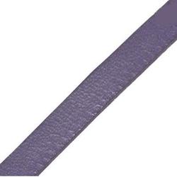 Rzemień płaski 5 mm - fioletowy 1 metr - FIO