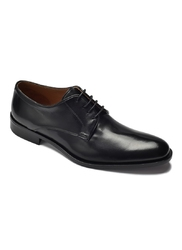 Eleganckie czarne buty biznesowe ze skóry nappa 45,5