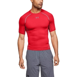 Koszulka męska under armour hg armour ss - czerwony
