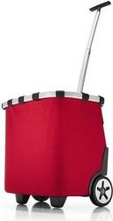 Koszyk na kółkach carrycruiser red