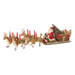 Świecznik - Kulig ze Św. Mikołajem Christmas Toys Villeroy  Boch