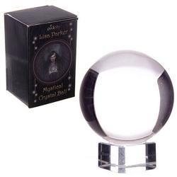 Magiczna szklana kula o średn. 5 cm, z podstawką