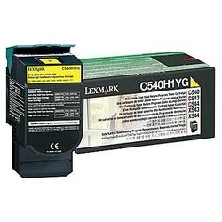 Toner oryginalny lexmark c540h1yg c540h1yg żółty - darmowa dostawa w 24h