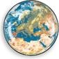 Półmisek cosmic earth europe
