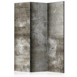 Parawan 3-częściowy - zimny beton room dividers