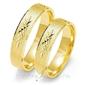 Obrączki ślubne złoty skorpion – wzór au-o117