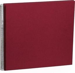 Album na zdjęcia uni economy białe karty duży burgund