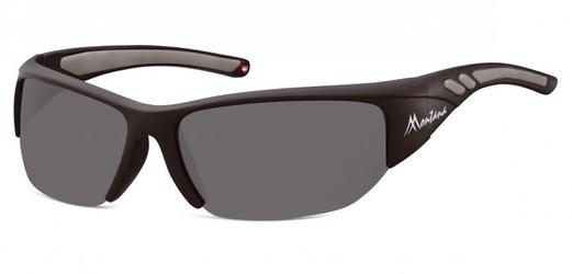 Sportowe okulary czarne z polaryzacją montana sp304