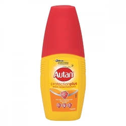 Autan protection plus spray z pompką