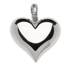 zawieszkawisiorek magnetyczna ze stali szlachetnej 2121-1 polerowane duże serce