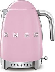 Czajnik elektryczny z regulacją temperatury 50s Style pastelowy róż