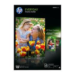 Papier fotograficzny HP Everyday, błyszczący – 25 arkuszyA4210 x 297 mm