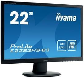 Monitor led iiyama e2283hs-b3 21,5 hdmi displayport - szybka dostawa lub możliwość odbioru w 39 miastach