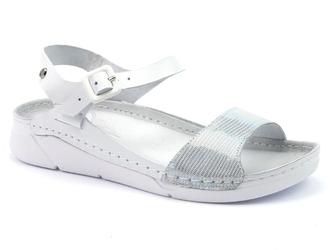 Sandały lemar 50047 biały