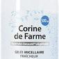 Corine de farme, odświeżający żel micelarny do mycia twarzy, 500ml