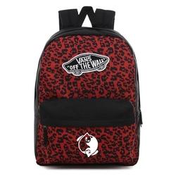 Plecak szkolny vans realm wild leopard - vn0a3ui6uy1 - custom yin yang cats