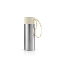 Eva solo - to go cup - kubek termiczny, 0,35 l, beżowy - beżowy